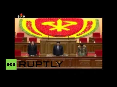 North Korea: Kim Jong-un leads first congress in 36 years