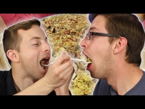 Americans Try Syrian Food For The First Time