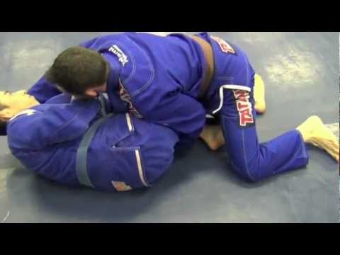 Half Guard Sweep Image 1