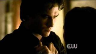 Season 2 Damon kisses Elena - The Vampire Diaries