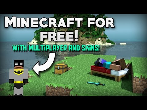 How To Get MINECRAFT For FREE with MULTIPLAYER AND SKINS! (Updated) (PC) (2018)