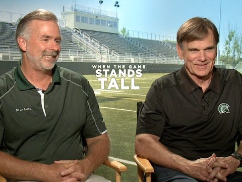 Football Coaches Terry Edison and Bob Ladoucer Talk 'When the Game Stands Tall'