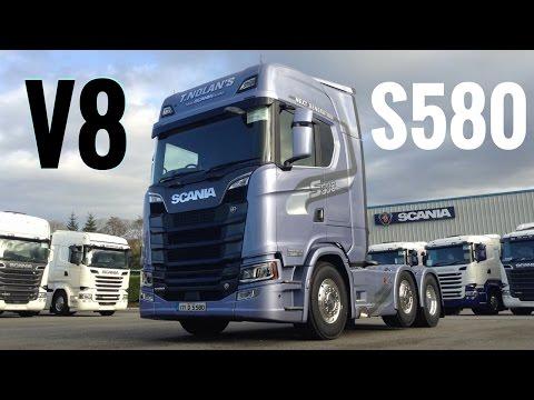 2017 New SCANIA S580 V8 Truck - Full Tour & Test Drive - Stavros969 4K
