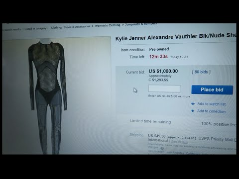 BOUGHT KYLIE JENNER'S WORN DRESS!!!