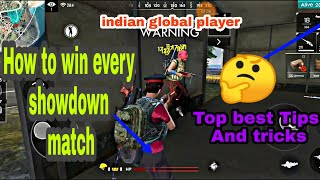 How to win all showdown match  /top global tips and tricks / kills global player 😜😜😜😜😜 #devilmd