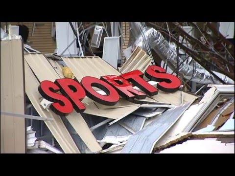 Raw Video - Lindale Tornado Damage