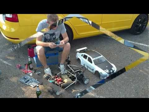 RC-CARS FG 1:5  in Aktion