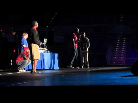 Duke – Swamp Records Emcee Battle – VISA Talent Show 2014