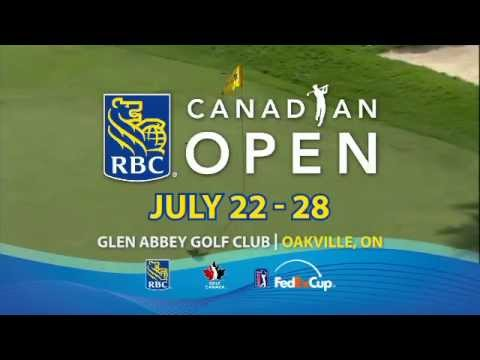 The 2013 RBC Canadian Open will take place July 22-28 at Glen Abbey Golf Club in Oakville, Ont. Visit: www.rbccanadianopen.com for ticket info and details.