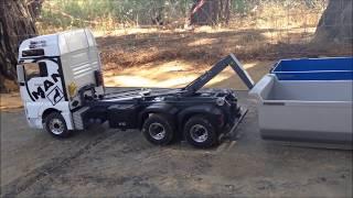 MAn 6x6 Multilift y Scania 8x8 off Road ( Diorma Camiones Rc Zona Centro)
