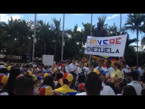 World Protest for a Free Venezuela #30MVamosTodos pt.1
