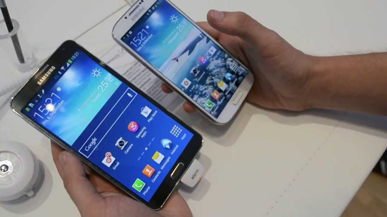 Samsung Galaxy Note 3 Neo vs s4 Samsung Galaxy Note 3 vs