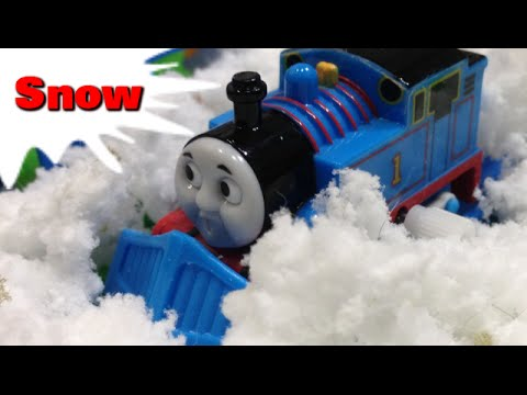 Thomas and friends SNOW トーマス プラレール ガチャガチャ ゆき
