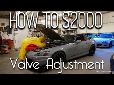DIY - How to Honda S2000 Valve Adjustment!