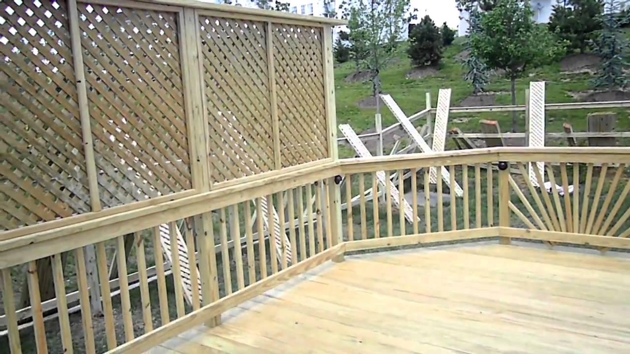 Ace Deck Amp Fence Llc Woodbridge Deck Amp Pergola Youtube