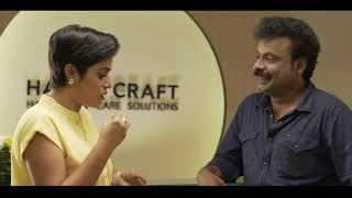 Shamna Kasim interviews Praveen Harisree (Bahubali fame)  about  his Hair transplant results Koch