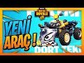 YENİ ARABA GELDİ ! - FORTNITE BATTLE ROYALE (HARİTAYI TURLADIK) - NEW CAR