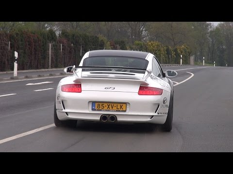 LOUD Porsche 997 GT3 with Akrapovic Exhaust System!
