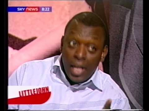 Garth Crooks (thanks angliakingof) tells Richard Littlejohn about the West Coast Niggas and the East Coast Niggas. Richard Littlejohn then shits himself. I guess he must be from Connecticut....