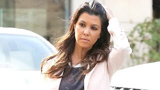 Kourtney Kardashian Looking Super Stressed As She Swings By Marmalade [2014]