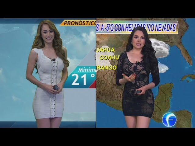 The Most Glamorous Meteorologists Are Becoming Stars Due To Skimpy Styles
