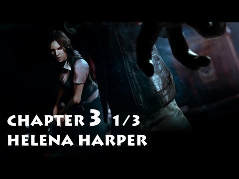 Resident Evil 6 - Helena Chapter 3 Part 1/3 ・ Leon's Campaign Co-op