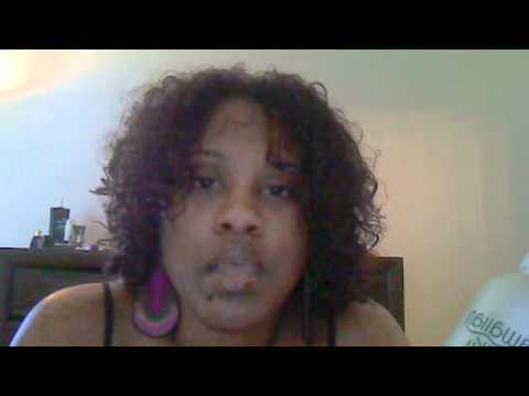 Hawaiian Silky Curl Activator On Natural Hair With