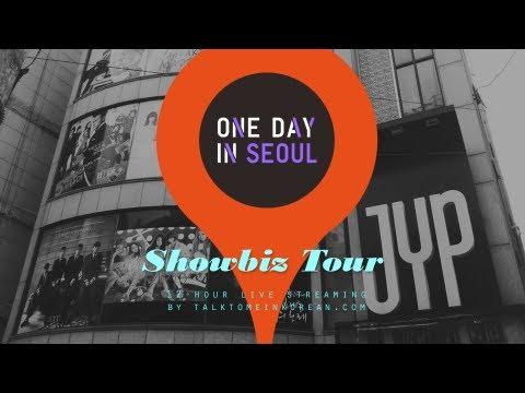Showbiz Tour in Gangnam with ROKing Korea - One Day In Seoul (3 Nov 2012