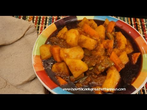 how to cook ethiopian food