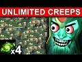 UNLIMITED CREEPS REFRESHER WRAITH KING PATCH 7.15 DOTA 2 NEW META GAMEPLAY #106 MP3