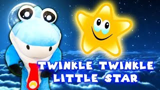 TWINKLE TWINKLE LITTLE STAR WITH MARK THE SHARK - FAMILY FRIENDLY ANIMATION FOR KIDS - BABY SONGS