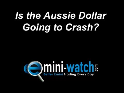 Is the Aussie Dollar Going to Crash? - 1/2 - Emini-Watch.com