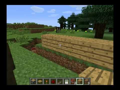 Как сделать смертельную ловушку в Minecraft