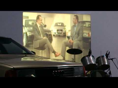 Ravi Shastri talks about his Audi 100 with Michael Perschke, Audi India Head