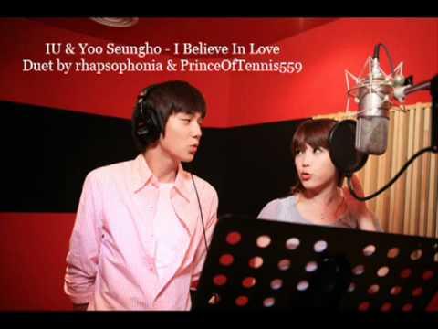 Yoo Seungho & IU - 사랑을 믿어요 _ I Believe In Love (Duet).flv