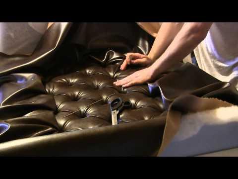 Как перетянуть банкетку каретной стяжкой