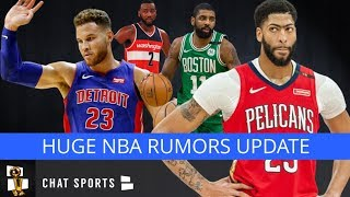 NBA Trade Rumors: Lakers Anthony Davis Trade Rejected, Celtics Won't Deal Kyrie, Marc Gasol Trade