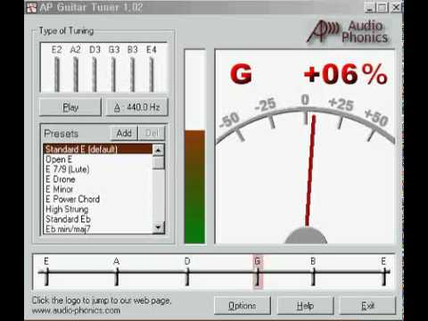 ap guitar tuner Windows 7 - Free Download Windows 7 ap