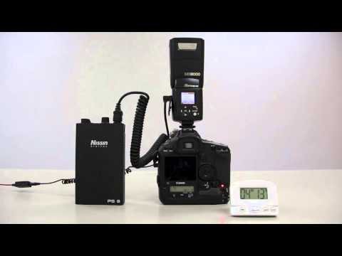 Nissin MG8000 vs Nikon SB-910, Overheat Resistant test ( 2 of 2 )