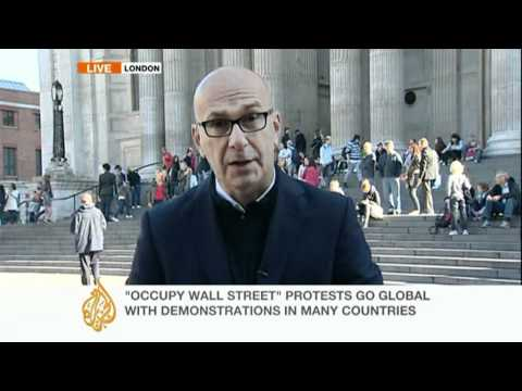 Day of 'Occupy' protests begins in Europe