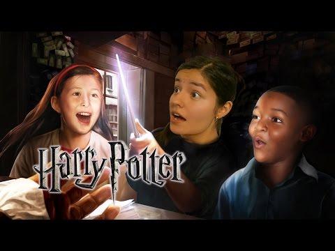 La Varita Escoge A Lesslie, El Mundo De Harry Potter | Vlog Los Polinesios video