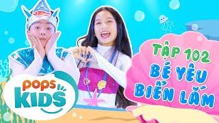 Mầm Chồi Lá Tập 102 - Bé Yêu Biển Lắm | Nhạc thiếu nhi hay cho bé | Vietnamese Kids Song