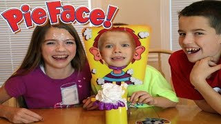 Family Pie Face Challenge!