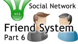 Web Intersect Friend System Tutorial PHP MySQL jQuery Ajax