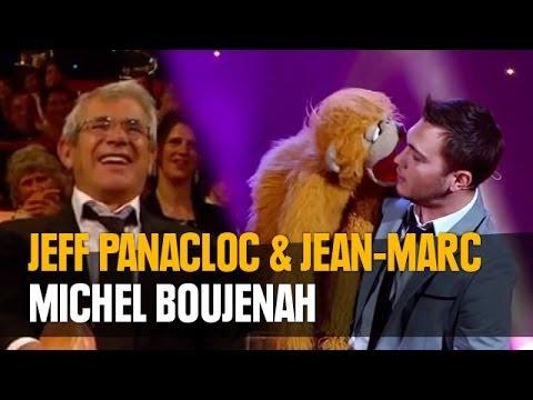 Jeff Panacloc au grand cabaret avec Michel Boujenah