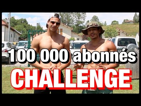 CHALLENGE100 Tractions/Pompes/Squats/Burpees by Bodytime
