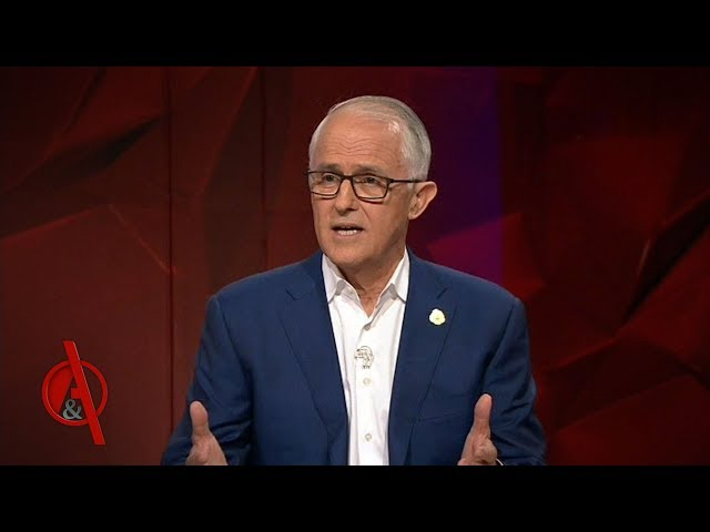 Malcolm Turnbull faces the public in his first appearance since being ousted as Prime Minister  QA