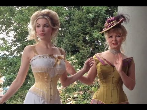 Historical Lingerie & Corset Dressing Sequence - Lace Embrace