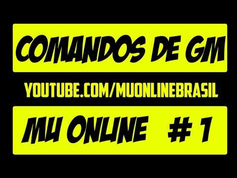 Comandos de GM - Mu Online #Parte 1
