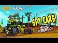 Scrap Mechanic - Spy Cars!